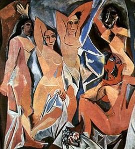 Le damigelle d'Avignon, 1907 Museo di  Arte Moderna, New York